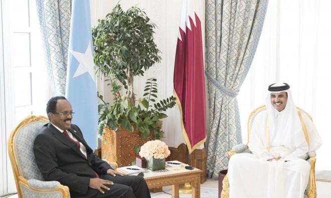 Somalia President thanks Qatar's contribution for infrastructure building