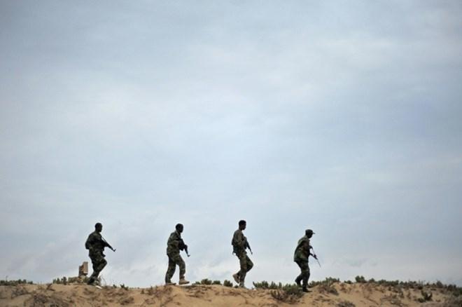11 militants killed, 15 injured in southern Somali region