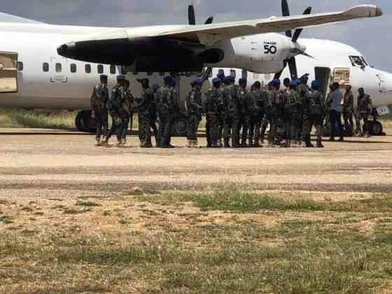 Somali government deploys troops in Dhusamareb district