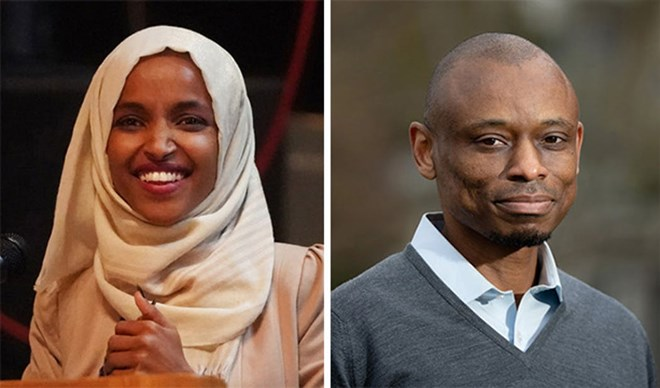 Rep. Ilhan Omar sparred Friday with Democratic rival Antone Melton-Meaux in an hourlong debate on WCCO Radio.STAR TRIBUNE