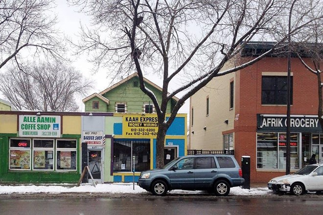 Many Somalis in Minnesota use money-transfer businesses, such as Kaah Express, to send money to their family and friends living in Somalia and other parts of the world. Credit: Matt Sepic | MPR News
