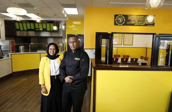 Somali restaurateur blends African, American flavors in new Northland spot