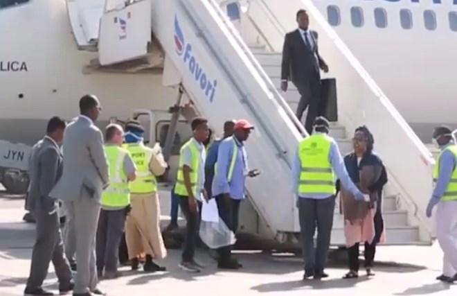 Somali Sports Minister shrugs off corona virus test upon arrival from Egypt