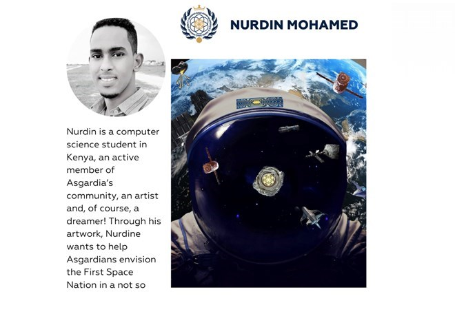 Meet Space Art Contest Finalist, Nurdin Mohamed!