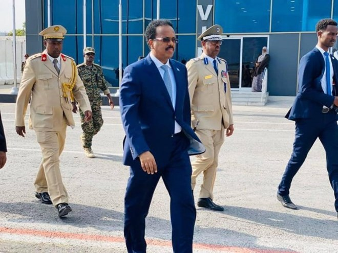 President Farmaajo jets off to Eritrea for trilateral summit