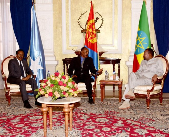 Somalia, Eritrea and Ethiopia adopt joint plan to fight terrorism and boost economic growth