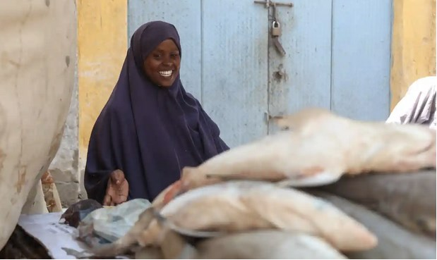 'Men don't trust we're strong enough': Somali women push into fish industry