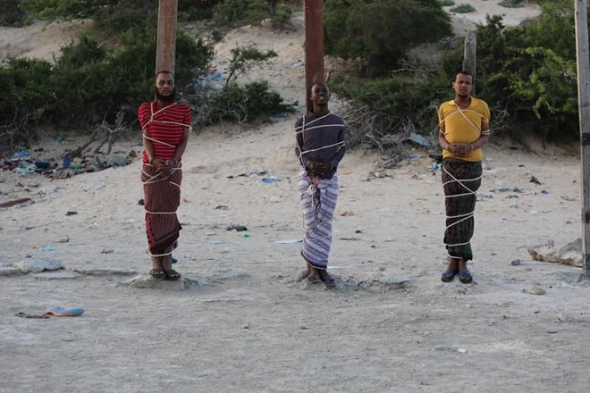Three Shabaab militants executed in Mogadishu