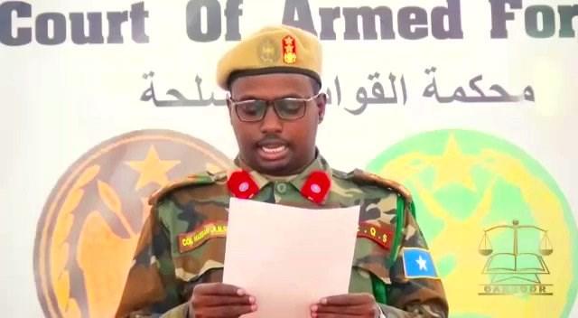 Mogadishu jail break suspect sentence to death, prison guards handed jail terms