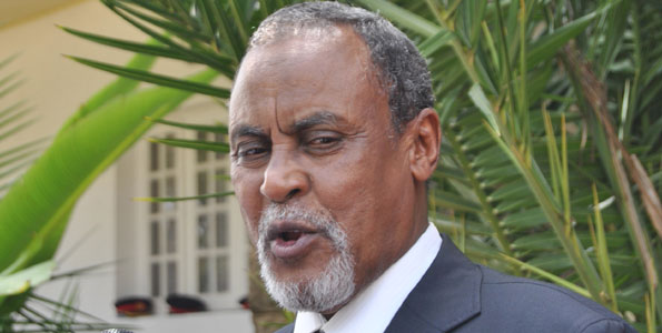 Defence Minister Yusuf Haji has been appointed Internal Security Minister in an acting capacity. Photo/FILE
