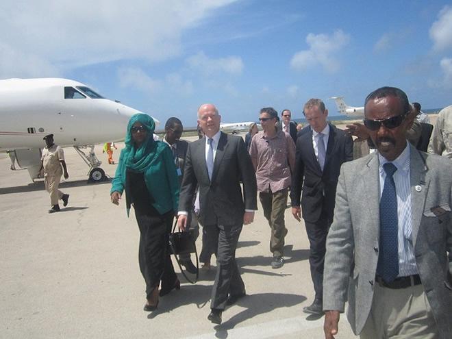 Foreign Secretary Opens New British Embassy in Mogadishu