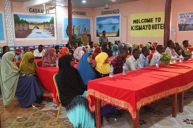 20161216636174531290061581kismay0 confer Somali youths urged to take up politics and help unify the country