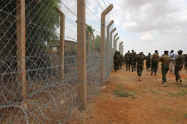 Kenya Somalia Fence To Keep Away Unwanted Elements Says