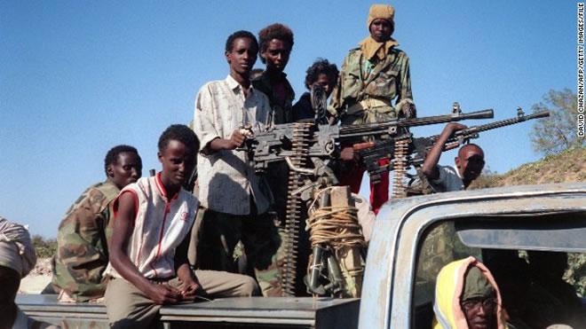 Somali pirates video clips
