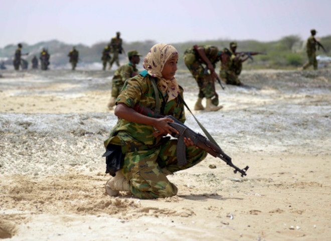 Mogadishu Hol Somali Troops Backed By Us Advisors Raided A Town Held The Al Qaeda Linked Shabab Group In Southern Somalia On Sunday