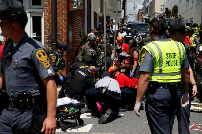 I Was Hit By The Car Attack In Charlottesville