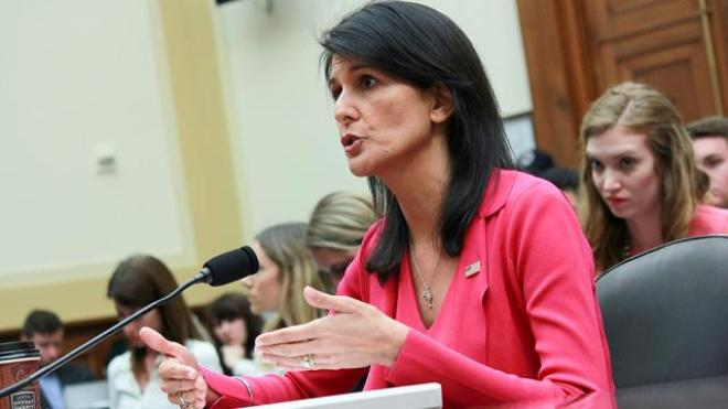Haley presents 'undeniable' evidence of Iran's support for Yemeni rebels