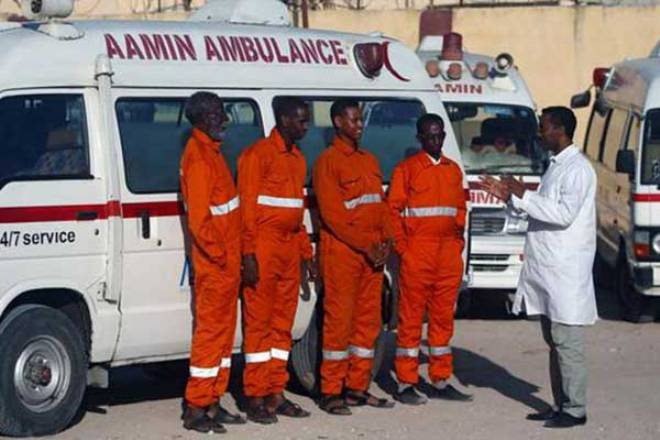 Aamin Ambulance Service to train Mogadishu residents in first aid