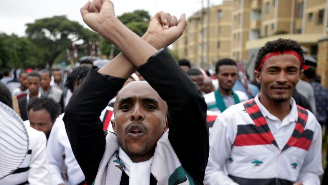 Ethiopia has blocked social media sites as new Oromo protests hit the country