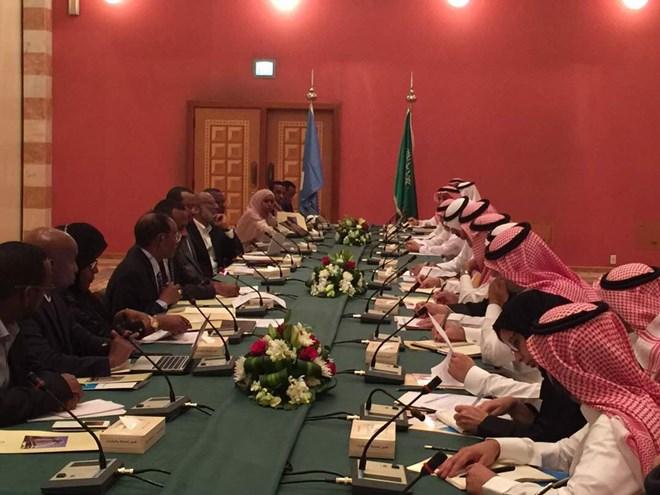Image result for somali ministerial delegation in saudi arabia