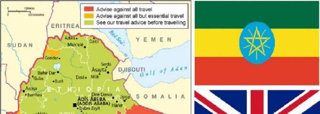 U K  updates Ethiopia travel advice citing business visa