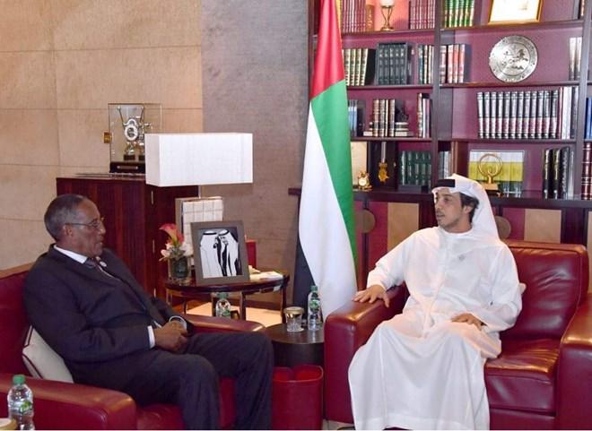 UAE delegation meet with Somaliland President Muse Bihi