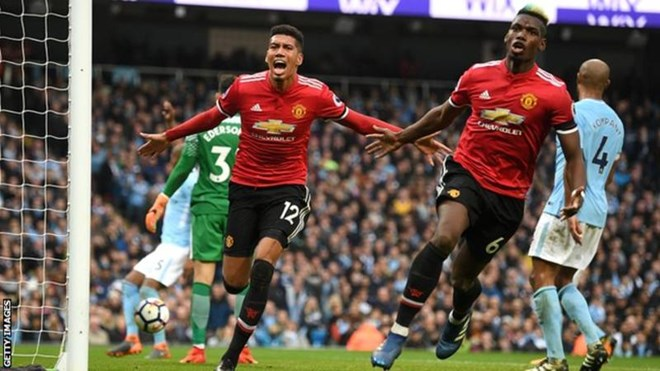 Man United, delaying EPL title by defeating Man City 3: 2