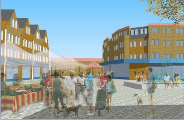 This is where hundreds of new homes in Harlesden are set to be built