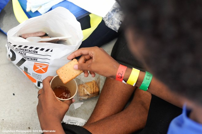 Many Aquarius migrants have chronic malnutrition, MSF Says