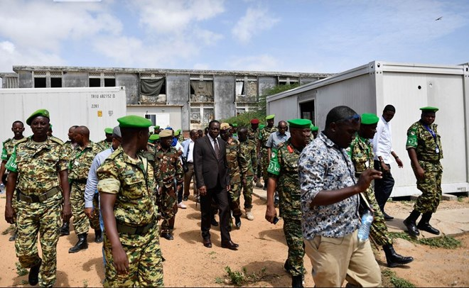 AMISOM starts the process of handing over military academy to SNA