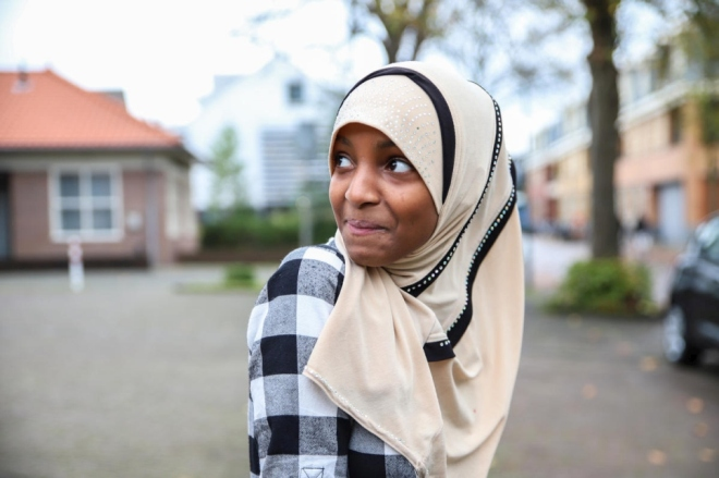 Somali teenager sets her hopes high for the future