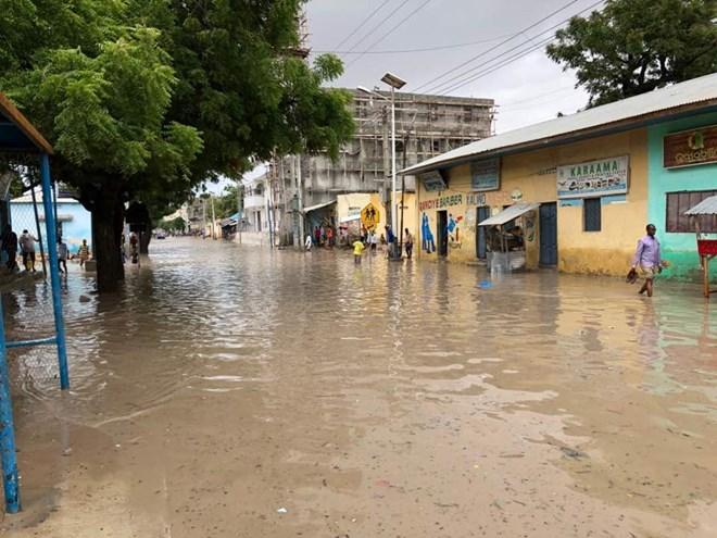 Heavy rains paralyze transport in Mogadishu