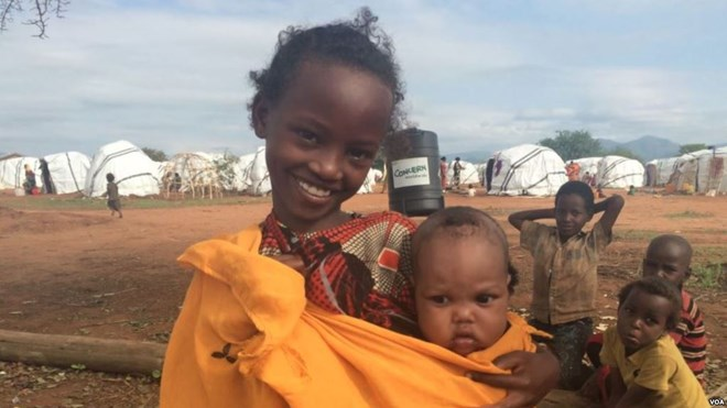 Uncertainty strains Ethiopian refugees in a Kenya camp