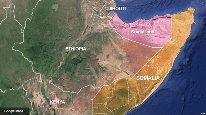 Deadly tropical cyclone hits horn of Africa