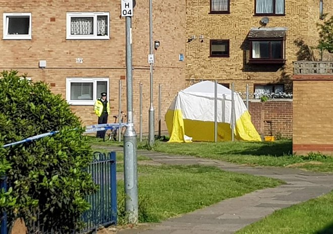 Another three men stabbed to death in 72 hours of violence on the streets of London
