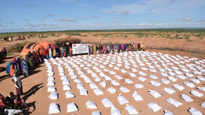 Turkey's TIKA helps flood victims in Somalia