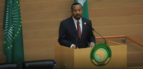 AU leaders applaud Ethiopian Prime Minister Abiy Ahmed for reforms
