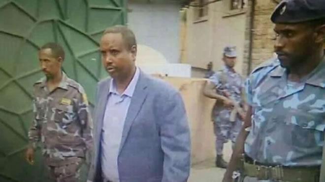 ormer Ethiopia's Somali state leader attempted prison break, Ethiopia police say