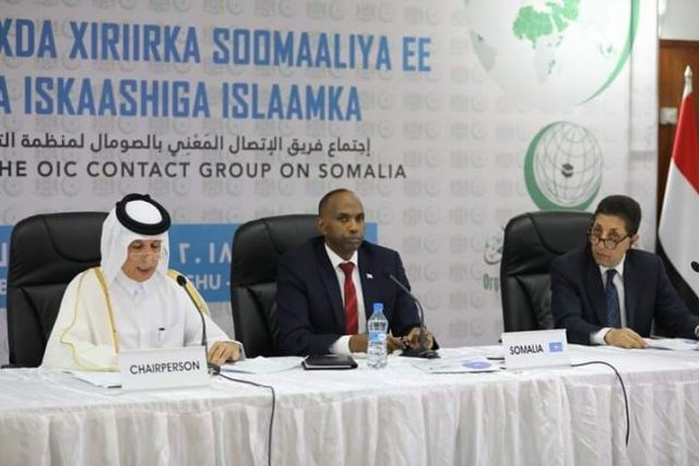 OIC reiterates larger support for Somalia in first