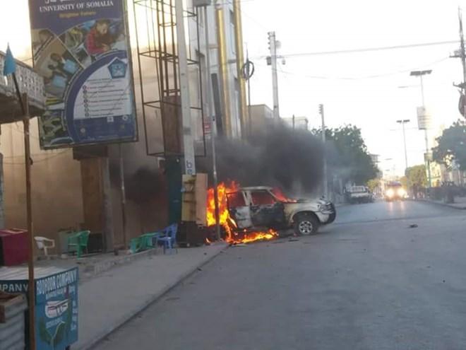 Car bombs kill one in Somali capital amid surge in violence