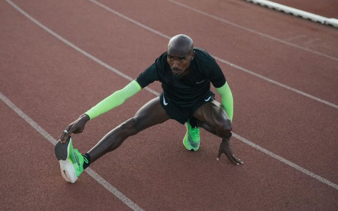 "Image result for Mo Farah confesses he is ""addicted"" to running - and sets incredible new target"