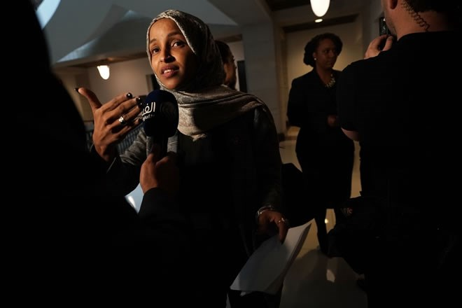 there is a taboo against criticizing aipac  u2014 and ilhan
