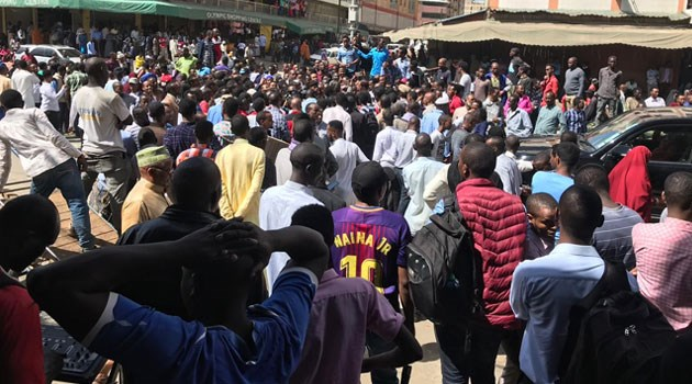 Muslim community in Eastleigh marches against terrorism