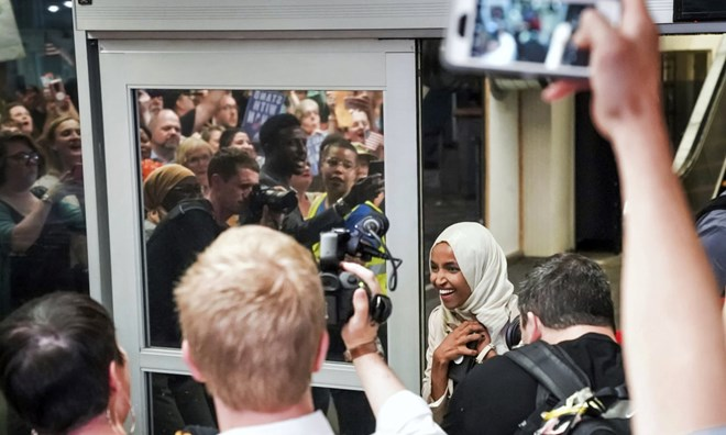 Ilhan Omar's constituents 'proud to stand by her' over Trump's racist words