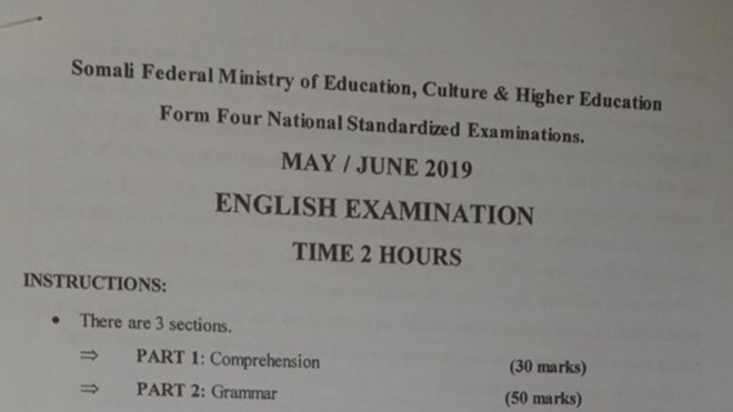 Somalia cancels national exams after leaks