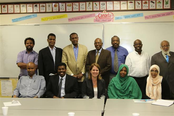 Somali Canadian Diaspora Consultation with UNHCR Researcher