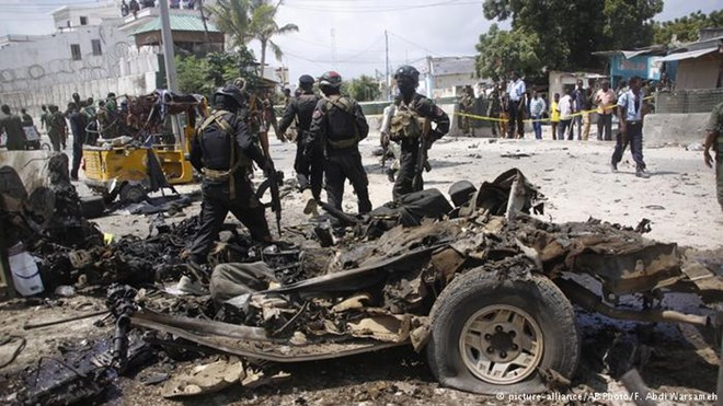 Several people have been killed in an assault on a police base in the Somali capital, Mogadishu. It is the second major operation in the city this week to be claimed by Islamist group al-Shabab.