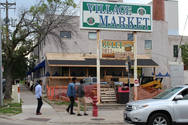 Village Market Mall on 24th Street and 10th Avenue South in Minneapolis