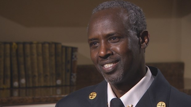 Ali Duale's story is 1 of 7 featured in new exhibit at Canadian Museum for Human Rights