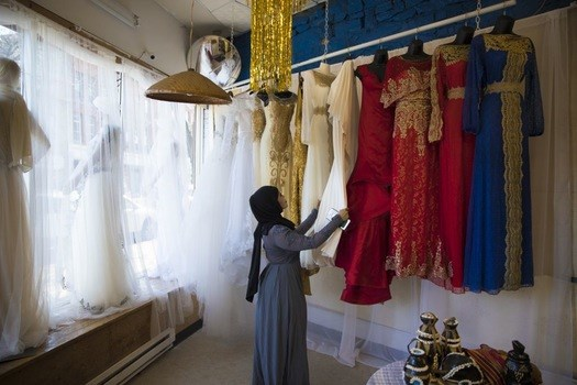 Sumaya Keynan created a wedding shop with traditional and modern dresses in her grandmother's Cedar-Riverside store.